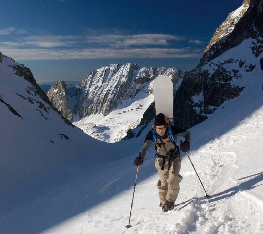 Snowboard de Montaña / Splitboard N1 y N2