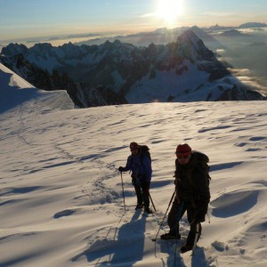 Mont Blanc, travesía 3 cimas